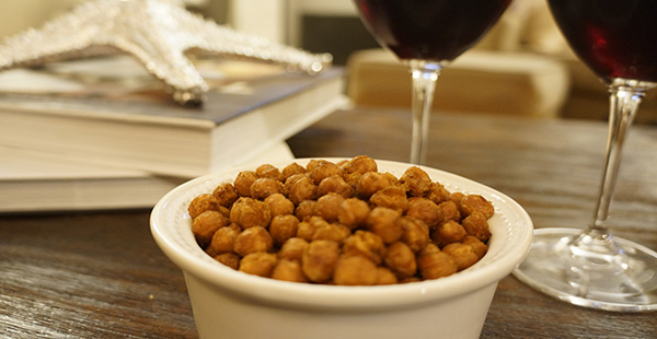 Baked Spiced Chick Peas