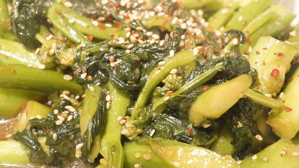 Sautéed Chinese Broccoli (Gai Lan) – Flavour Kitchen